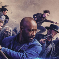 Comic-conový banner pro pátou řadu Fear the Walking Dead